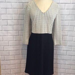 NWOT Anthropologie Ganni Crossknit Dress